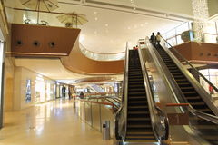 Modern luxury shopping mall Royalty Free Stock Photography