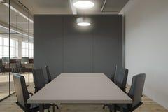 Modern mötesrum med copyspace Fotografering för Bildbyråer