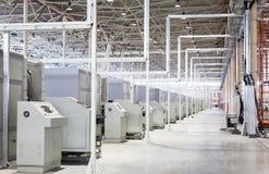 Modern machines in shop Stock Photo