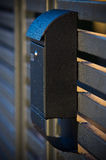 Modern mailbox Stock Photography