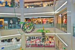 Modern mall interior royalty free stock photos