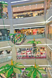 Modern mall interior Stock Photos