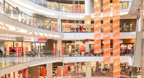 Modern mall Royalty Free Stock Image