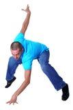 Modern man dancer stock images