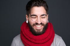 Modern man smiling Stock Photos