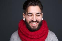 Modern man smiling Stock Photos