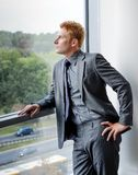 Modern Manager Businessman in formal dress - portr Royalty Free Stock Photography