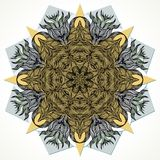Modern mandala design Royalty Free Stock Photos
