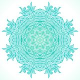 Modern mandala or snowflake design Stock Photography