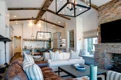 Free Modern Mansion Living Room Royalty Free Stock Image - 100965826