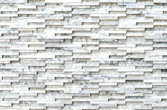 Modern marble brick stone wall background texture Stock Photography