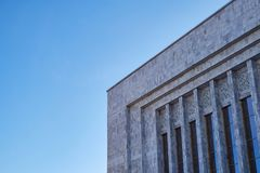 Modern marble building stock image