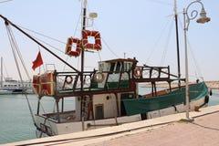 Modern marin- mycket av härliga yachter i den Agadir staden i Marocko i Afrika Arkivfoton
