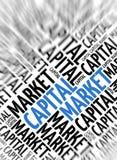 Modern marketing background - Capital Market Royalty Free Stock Photo