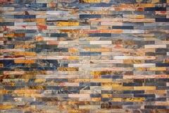 Modern marmorstenvägg royaltyfria bilder