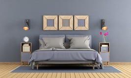 Modern master bedroom Royalty Free Stock Photo