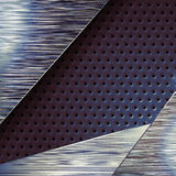 Modern mat metal surface background Stock Photos