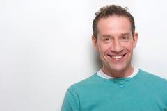 Modern mature man smiling Stock Photography