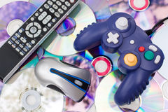 Modern Media Controllers Stock Photos
