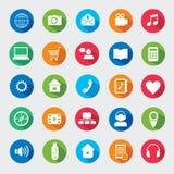 Modern media design elements. Royalty Free Stock Images
