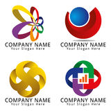 Modern Media Logo Stock Photography