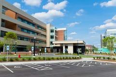 Modern medical center Stock Photos