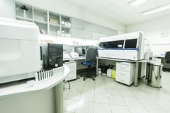 Modern medical laboratory Stock Image