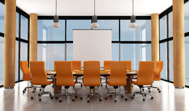Modern meeting room Stock Image