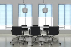 Modern meeting room Stock Photo
