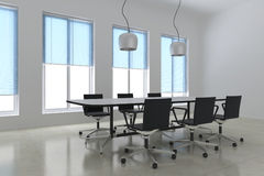 Modern meeting room Stock Photography