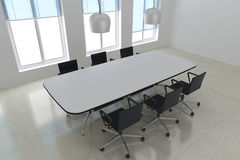 Modern meeting room Stock Image