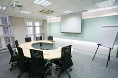 Modern Meeting room Stock Photography