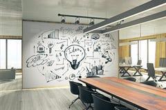 Presentation and finance concept vector illustration