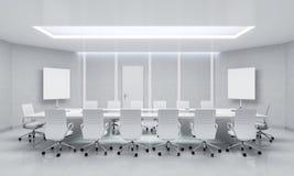 Modern Meeting Room. 3d Illustration. Stock Image