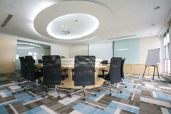 Modern Meeting room interior Stock Photography