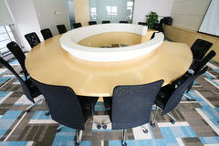 Modern Meeting room interior Royalty Free Stock Photo