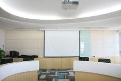 Modern Meeting room interior Stock Photography