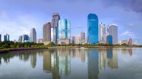 Modern megapolis panorama Royalty Free Stock Images
