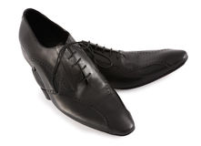 Modern mens shoes Stock Image
