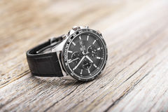 Modern mens watch. Royalty Free Stock Images