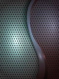 Modern Metal Abstract background Stock Image