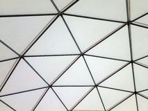 Modern Metal building dome interior Royalty Free Stock Image