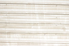 Modern metal fence from prefabricated panels texture Stock Photo