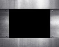 Modern metal frame Royalty Free Stock Images