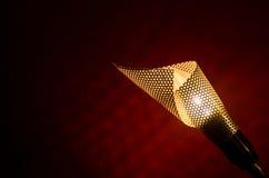 Modern Metal Lamp Horizontal Royalty Free Stock Images