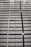 Modern of metal roof structure Royalty Free Stock Image