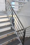 Modern metal staircase Royalty Free Stock Photography