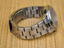 Modern metal watches Stock Photos