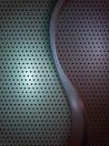 Modern metallabstrakt begreppbakgrund Fotografering för Bildbyråer
