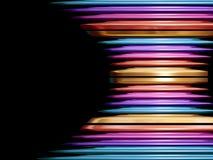 Modern metallic abstract Stock Photos